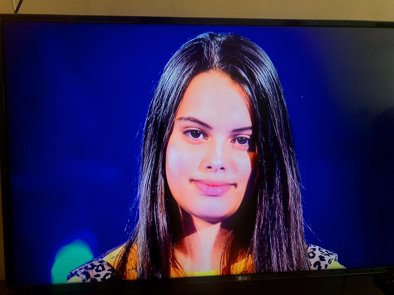 Piauiense Natielly Rocha vence batalha e se classifica para a próxima fase do The Voice Kids